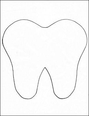 Bewitching image regarding tooth pattern printable