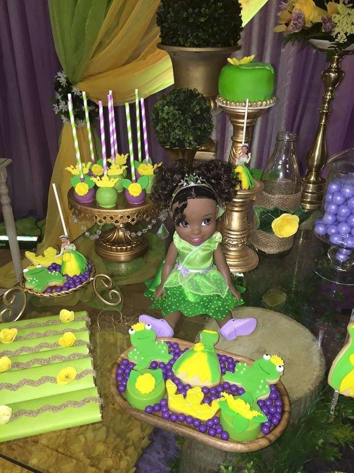 Princess And The Frog Birthday Party Ideas Photo 13 Of 27 Frog Birthday Party Princess Tiana Birthday Party Tiana Birthday Party