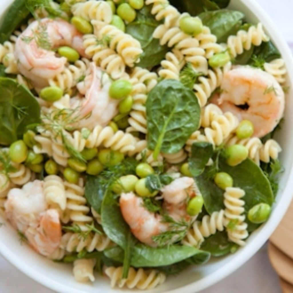 Dilled shrimp pasta salad recipe whole food recipes
