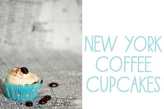 Ich leider unter ganz akuter Wanderlust darum gibt es ein Rezept für New-York-Coffee-Cupcakes auf goodiys.com