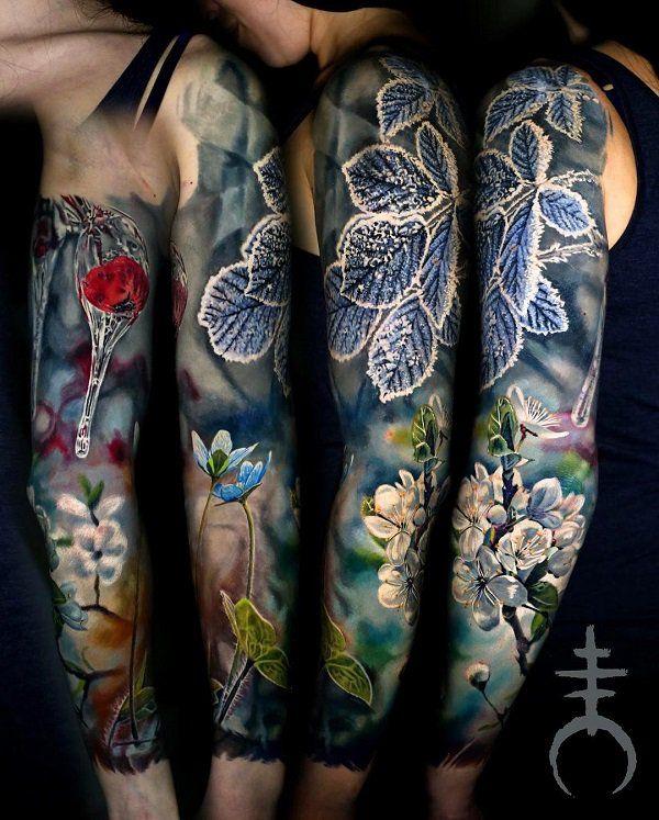 70 Amazing 3d Tattoo Designs Cuded Sleeve Tattoos Tattoo Sleeve Designs Full Sleeve Tattoos