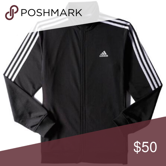 0bc9d249fef4 Adidas tracksuit jacket Selling for  40 on the app depop
