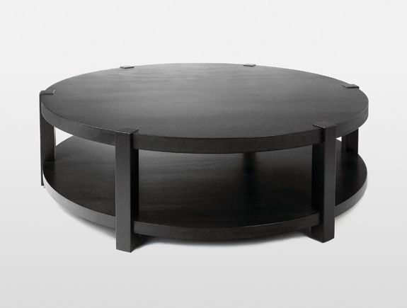 Like The Tier Coffee Table Holly Hunt But Is A Bit Too Chunky - 2 tier round coffee table