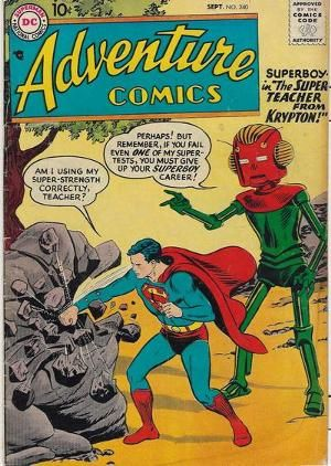 a favorite Adventure comic