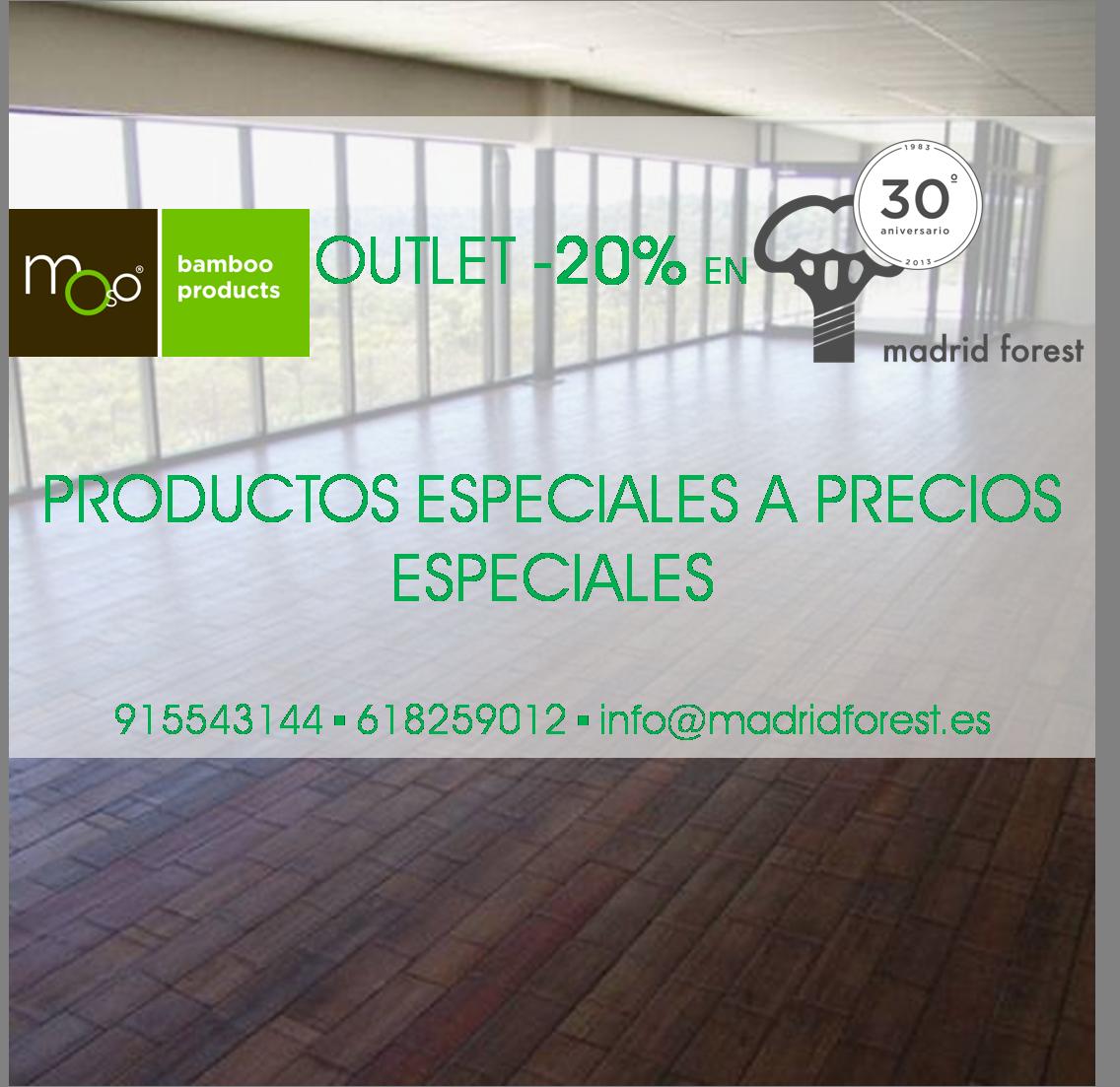 #Moso #Outlet #Oferta #suelosbambú #tarima bambú #bamboo Febrero- Marzo 2014