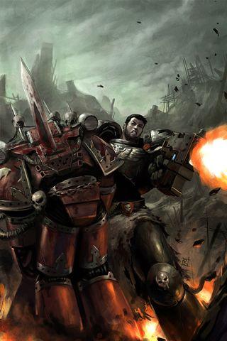 Warhamer Battle Android Wallpapers Hd Warhammer Warhammer 40