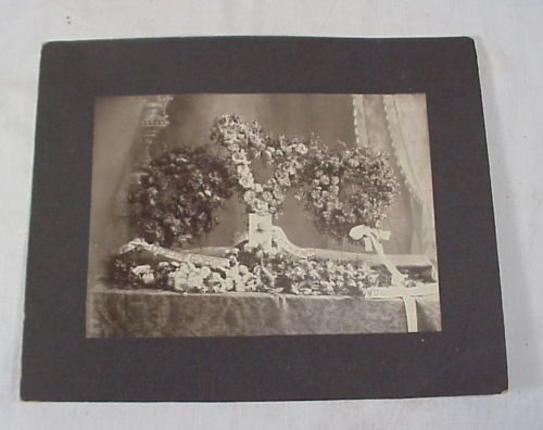 Large Cabinet Card Photo Funeral Memorial Mother Home Mission No Reserve | eBay
