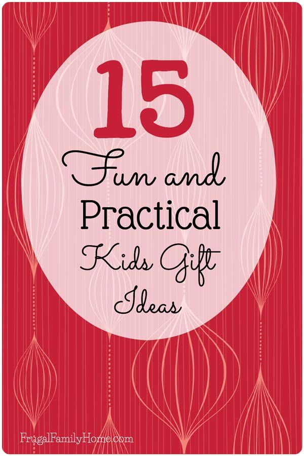 15 Practical and Fun Gifts for Kids | Practical gifts, Gift and ...