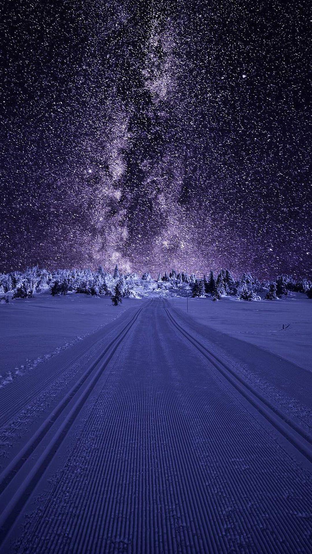 Art Nature Wallpaper for Samsung Galaxy J7 Prime Background - Stars and Snow | Fondos | Samsung ...