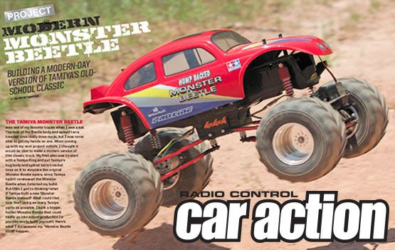 Rc Car Action >> Rc Car Action Project Modern Monster Beetle Featuring Pro Line