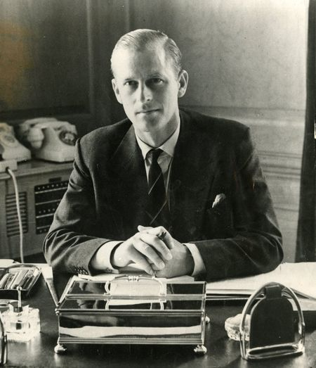 Prince Philip, 1951: The Duke Of Edinburgh Earned The Rank