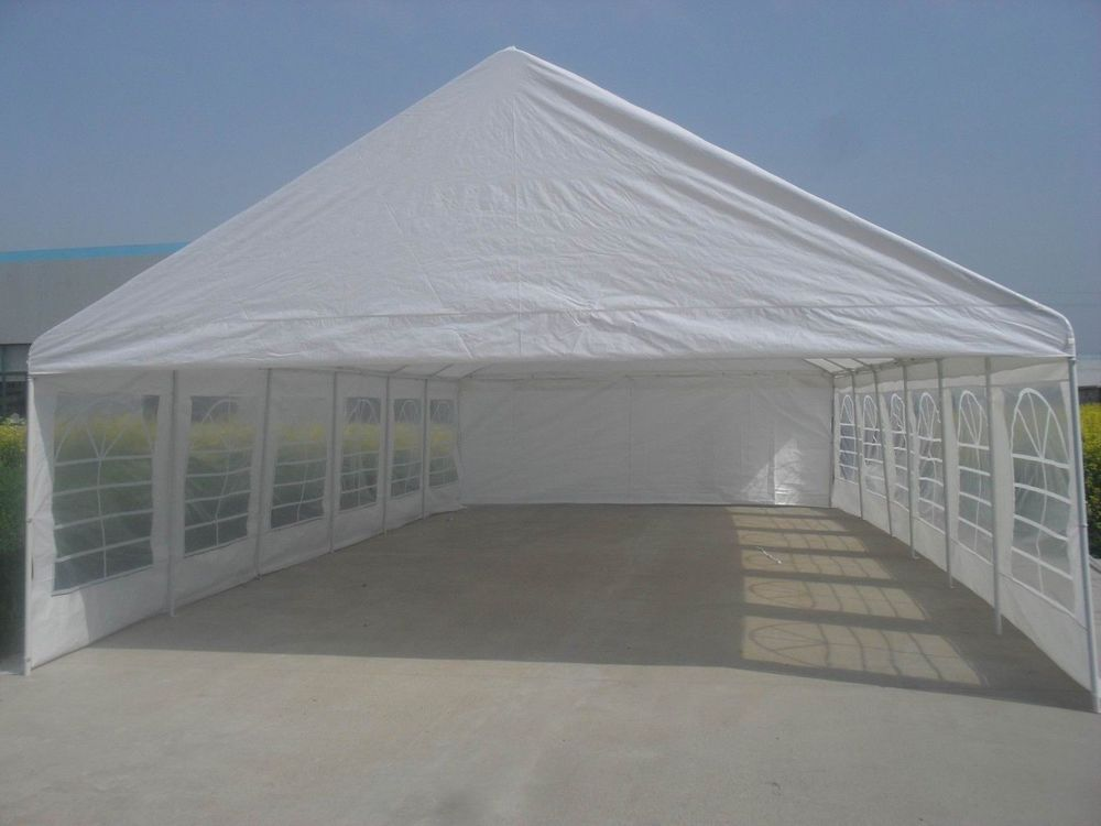 20x40 Party Tent (front and back and walls with windows