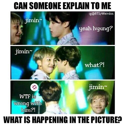 Source: weheartit.com army kpop funny rap monster kpop memes bts funny bts memes jimin bts funny