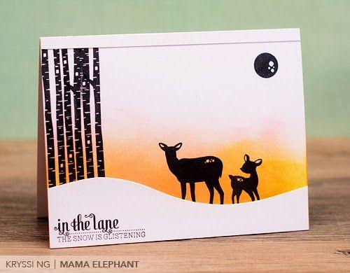 Winter Wonderland: mama elephant | design blog: