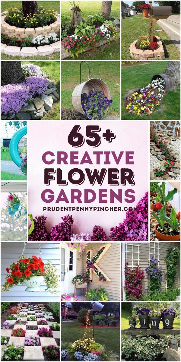 65 Creative Diy Flower Garden Ideas Beautiful Flowers Mosaic Pots