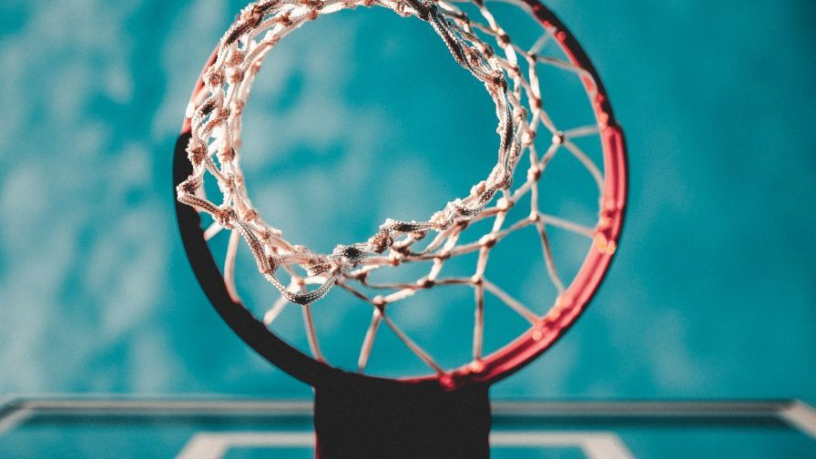 Wallpaper Basketball Ring Mesh Blur Basketball Ring