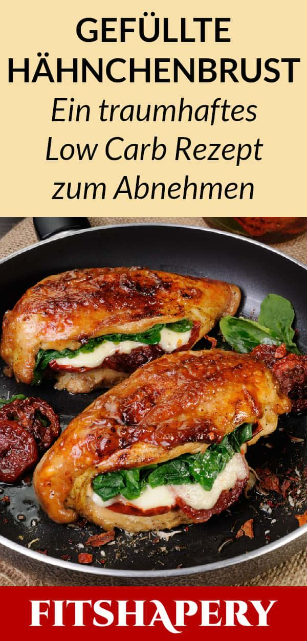 Photo of This stuffed chicken breast is low carb and high in protein.