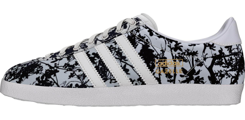 adidas gazelle zwart wit dames