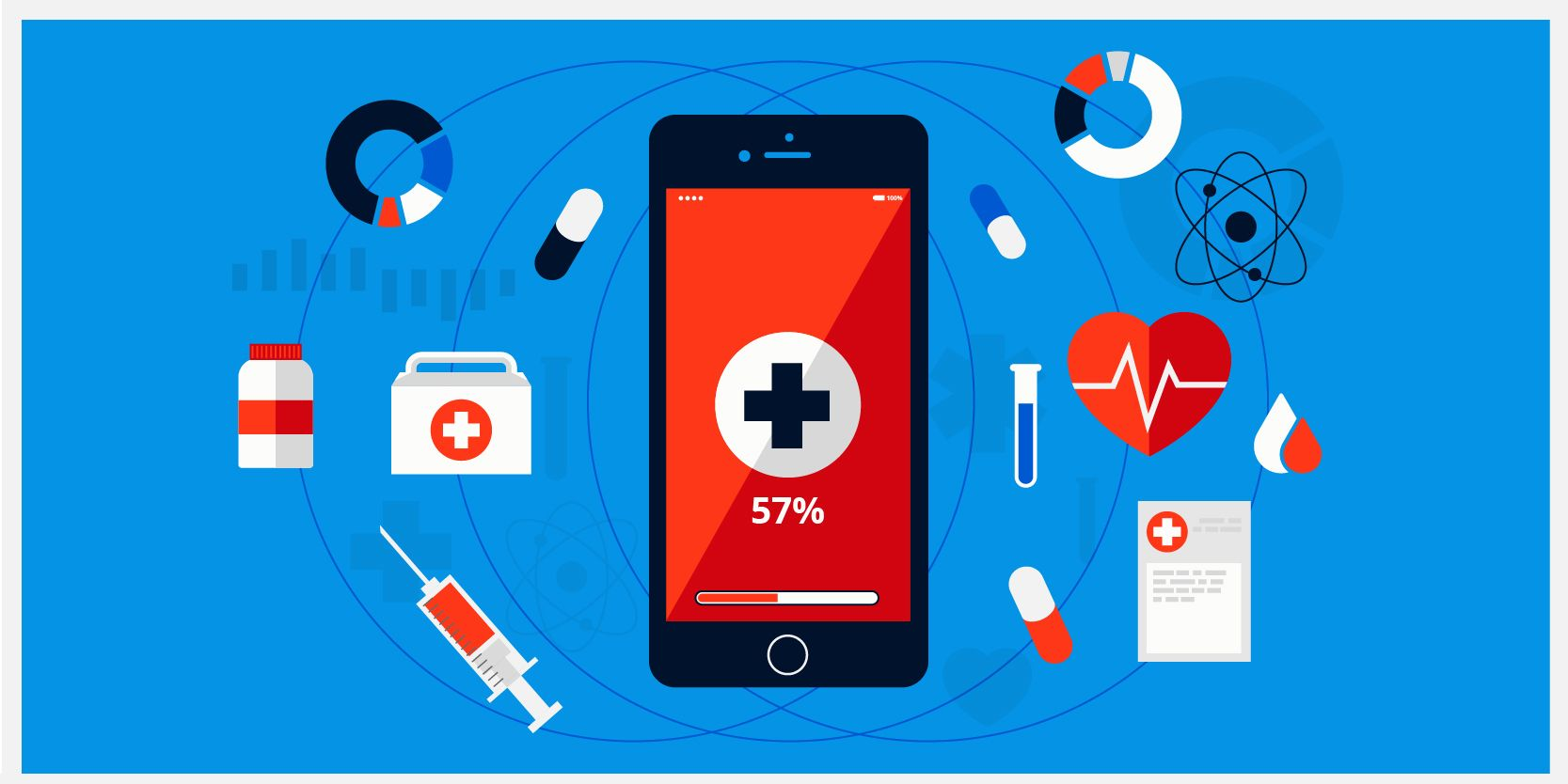 Build smart infrastructure in healthcare with iot based