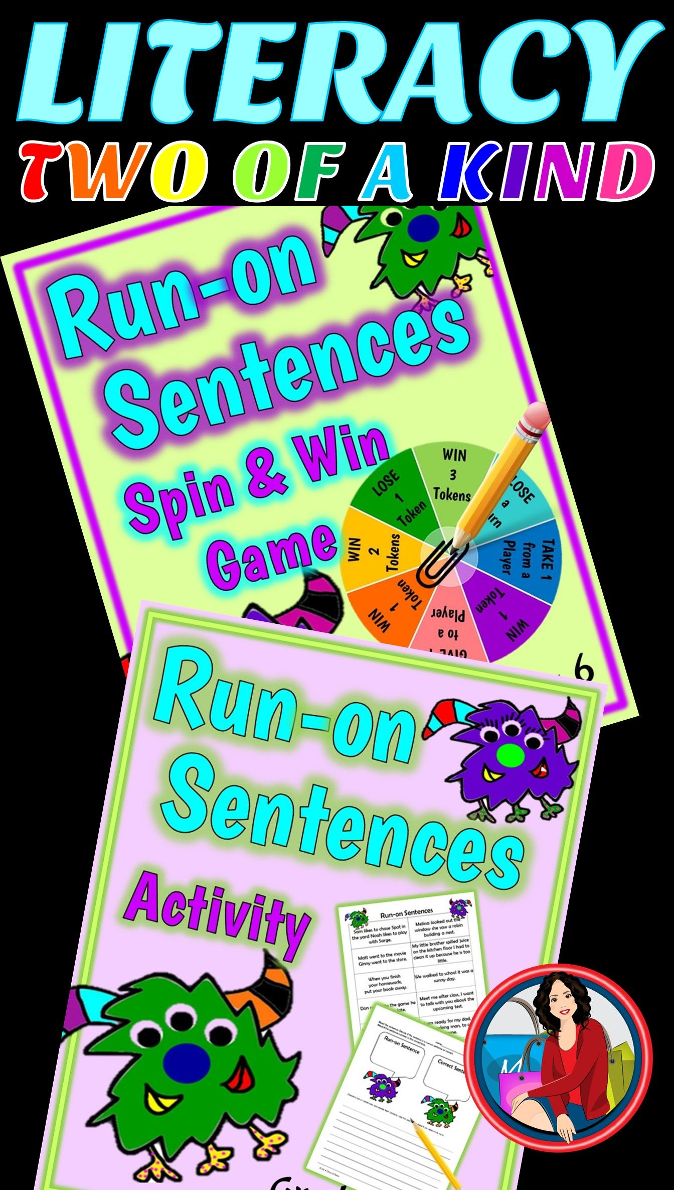 Run On Sentences Activity And Game