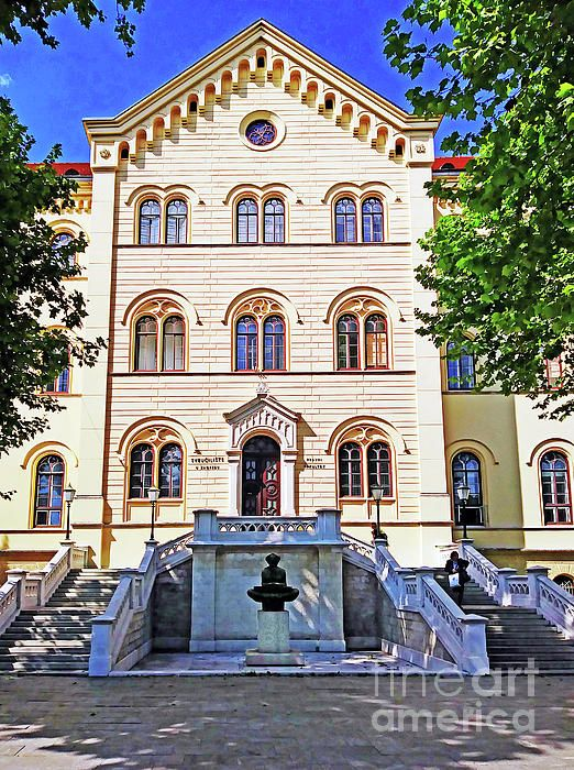 The Faculty Of Law Zagreb Croatia By Jasna Dragun Croatia Zagreb Croatia Zagreb
