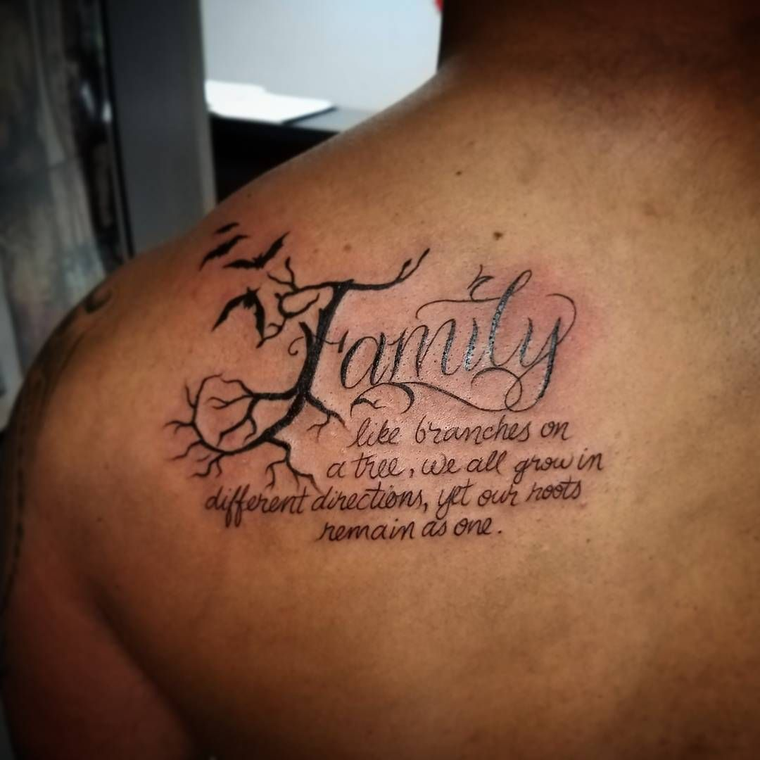 One Of The Most Unique Tattoos That Are Applied Specifically With A Purpose Family First These Will Come In Various Ways