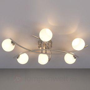 muriel opalglas deckenleuchte f rs wohnzimmer kaufen wohnungseinrichtung pinterest. Black Bedroom Furniture Sets. Home Design Ideas