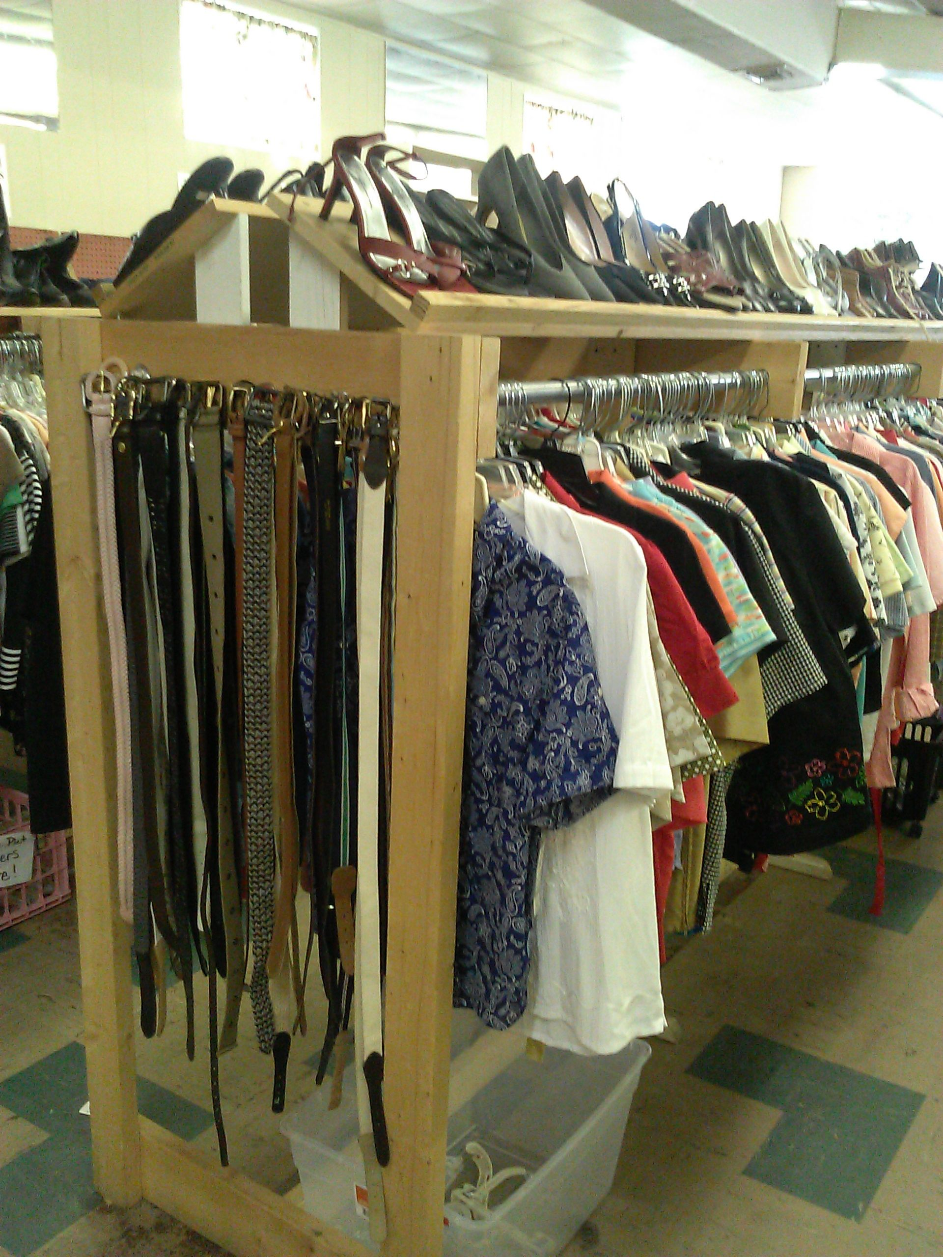 815112dd8 clothes rack for the local thrift store | things we have made ...