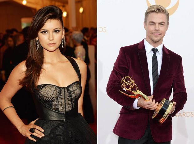 Nina Dobrev And Derek Hough Are Dating But It S Not Serious They Re Having Fun Exclusive Http Sulia Com Channel Nina Dobrev Derek Hough Vampire Diaries