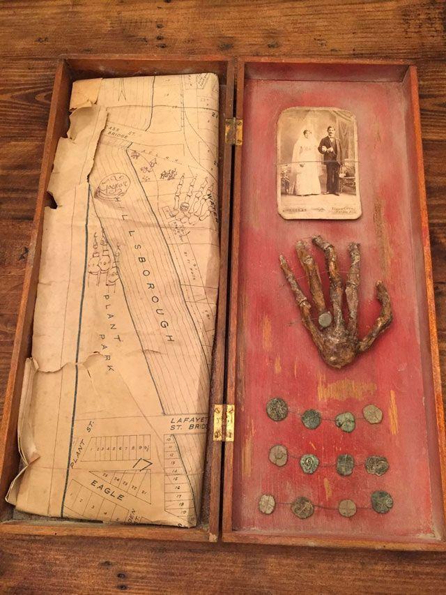 Mysterious Pirate Treasure Box Found In Tampa Bay Attic