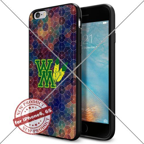 WADE CASE William and Mary Tribe Logo NCAA Cool Apple iPhone6 6S Case #1712 Black Smartphone Case Cover Collector TPU Rubber [Circle] WADE CASE http://www.amazon.com/dp/B017J7PWRM/ref=cm_sw_r_pi_dp_UjGtwb1MRWKPX