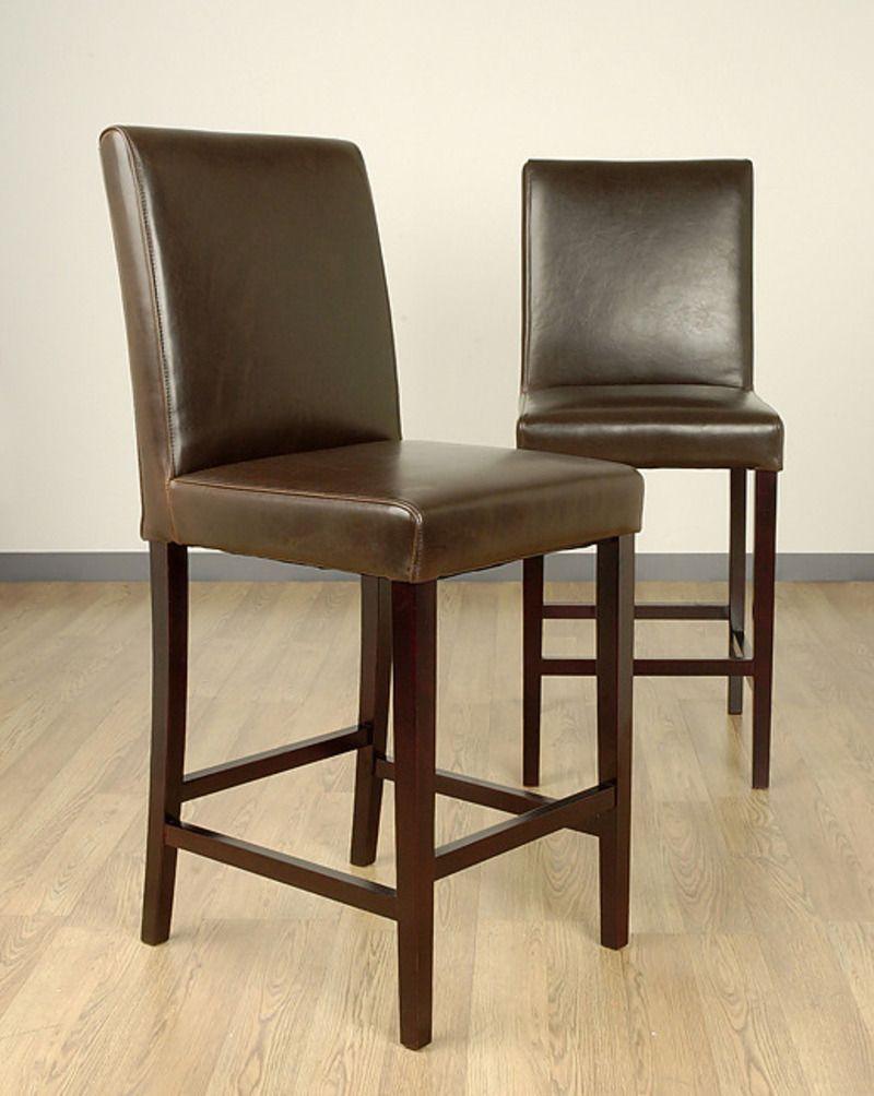 Fabulous Leder Counter Hocker Ikea Bar Bei Target Kuche Mit Stil Theyellowbook Wood Chair Design Ideas Theyellowbookinfo