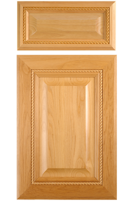 Mitered Cabinet Door With Applied Rope Molding In Select Alder Mw5 R Rp1 Stile And Rail Width 3 1 8 Custom Cabinet Doors Custom Door Raised Panel Doors