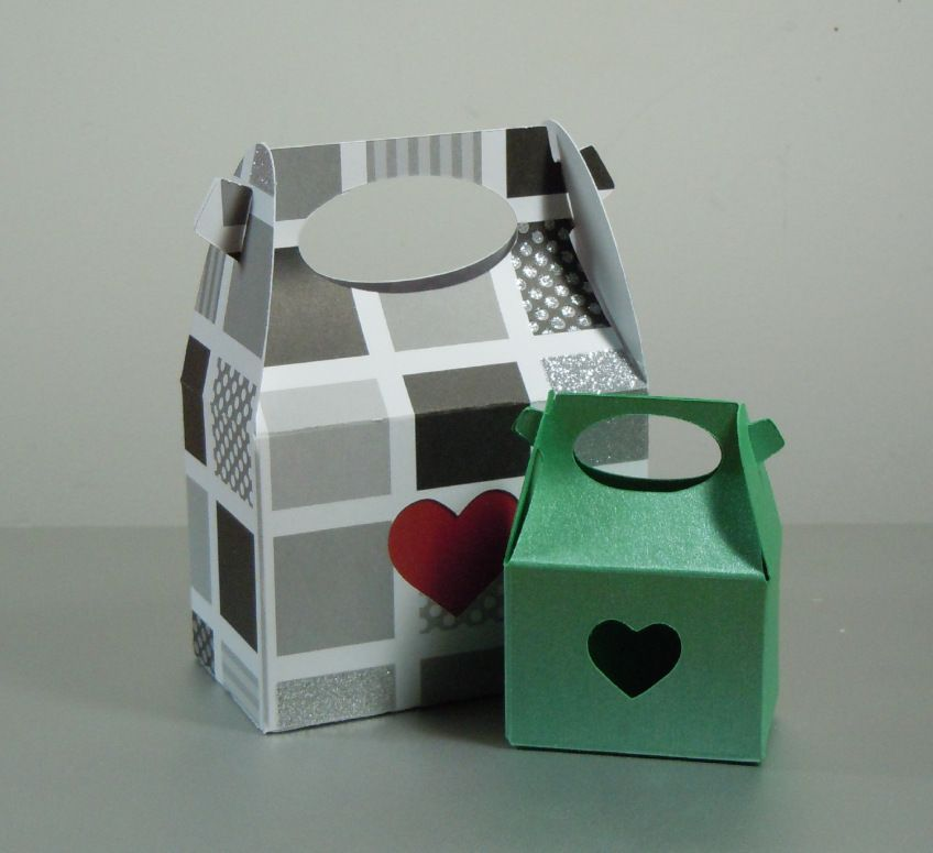 cardboard handle boxes