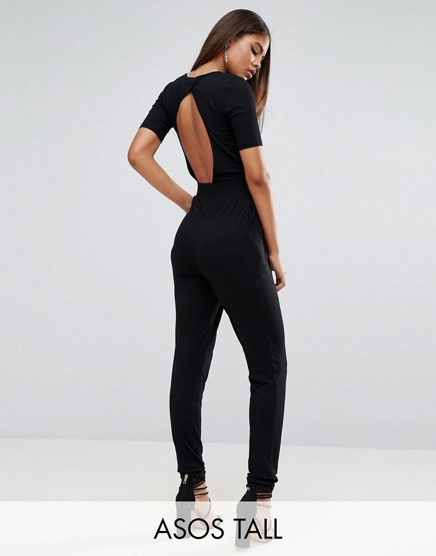 4121a7e62 Get this Asos Tall's long jumpsuit now! Click for more details ...