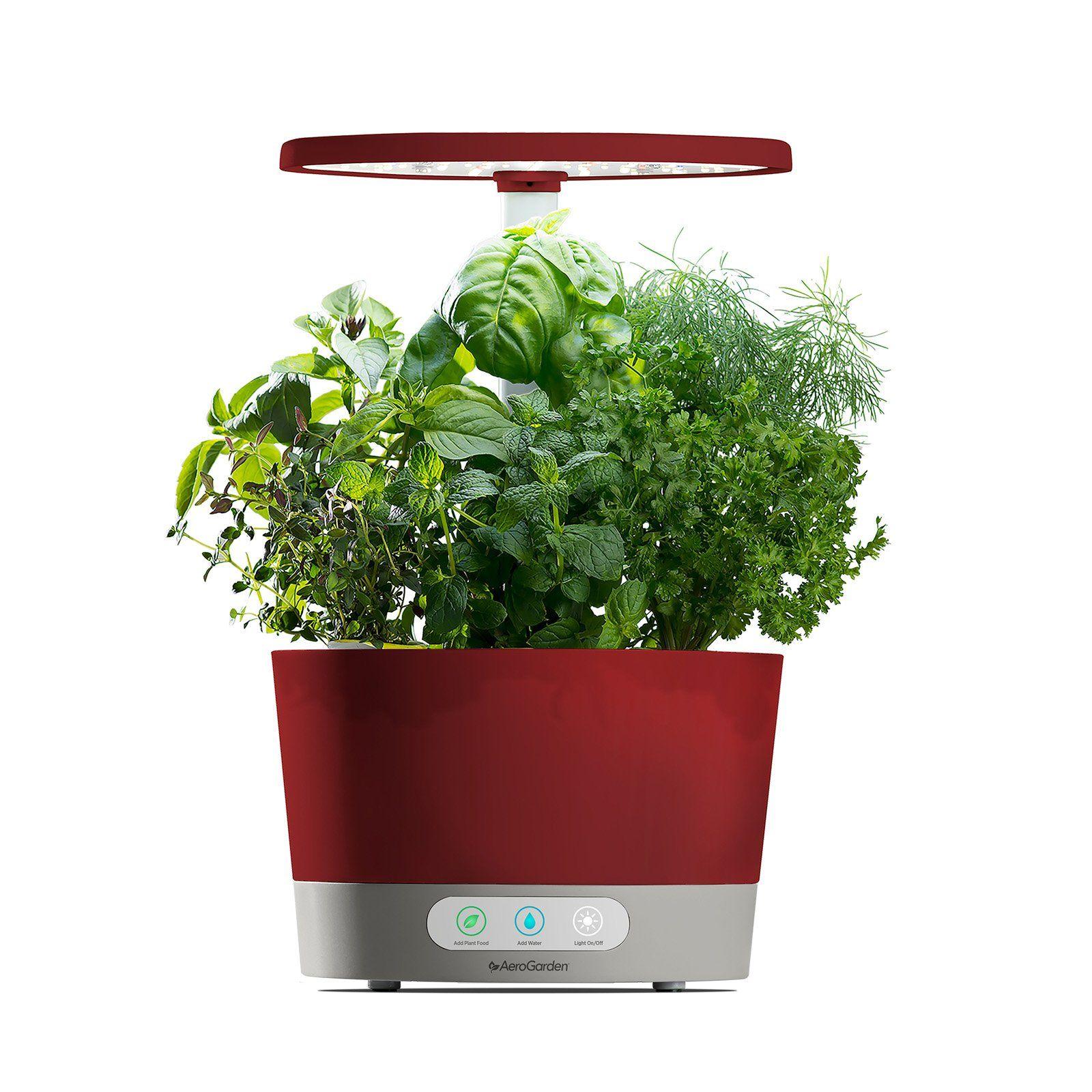 Aerogarden Harvest 360 Hydroponic Garden System White 400 x 300