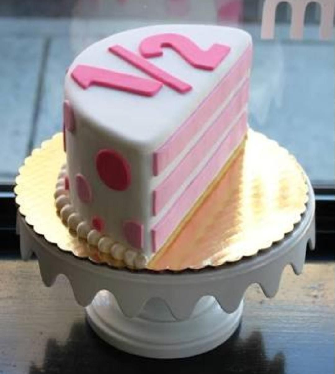 30 Brilliant Picture Of 6 Month Birthday Cake With Images
