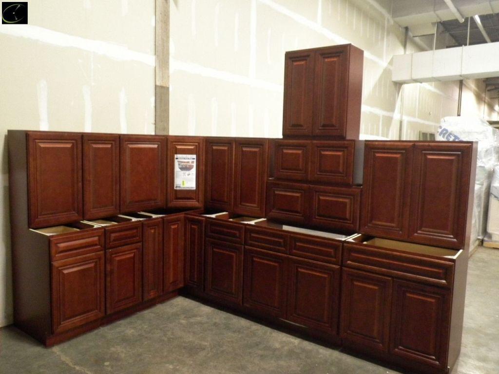 Grand Reserve Cherry Kitchen Cabinet Set 12 X 12 By Feather Lodge Kitchen Set Cabinet Cherry Cabinets Kitchen Kitchen Remodel