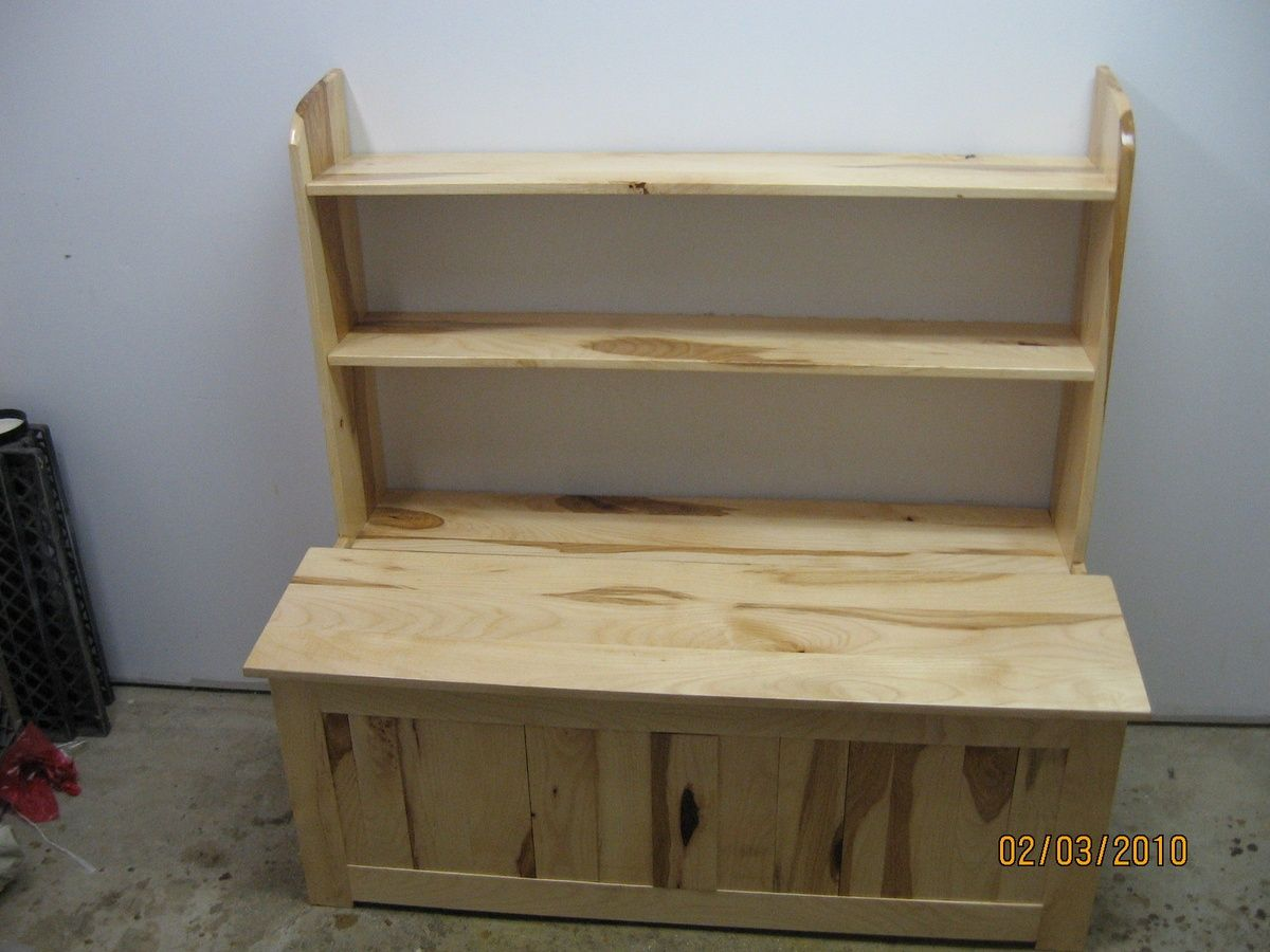 Toy Box Bookcase Combo In 2020 Amish Furniture Bookcase Toy Boxes