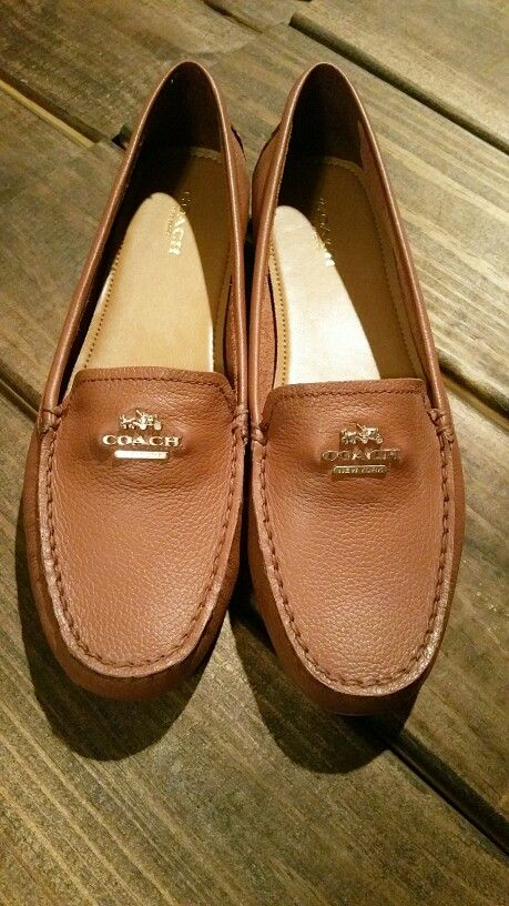 29d373fd0a1 Coach loafers. I own these in black - seriously the most comfortable shoe I  own.
