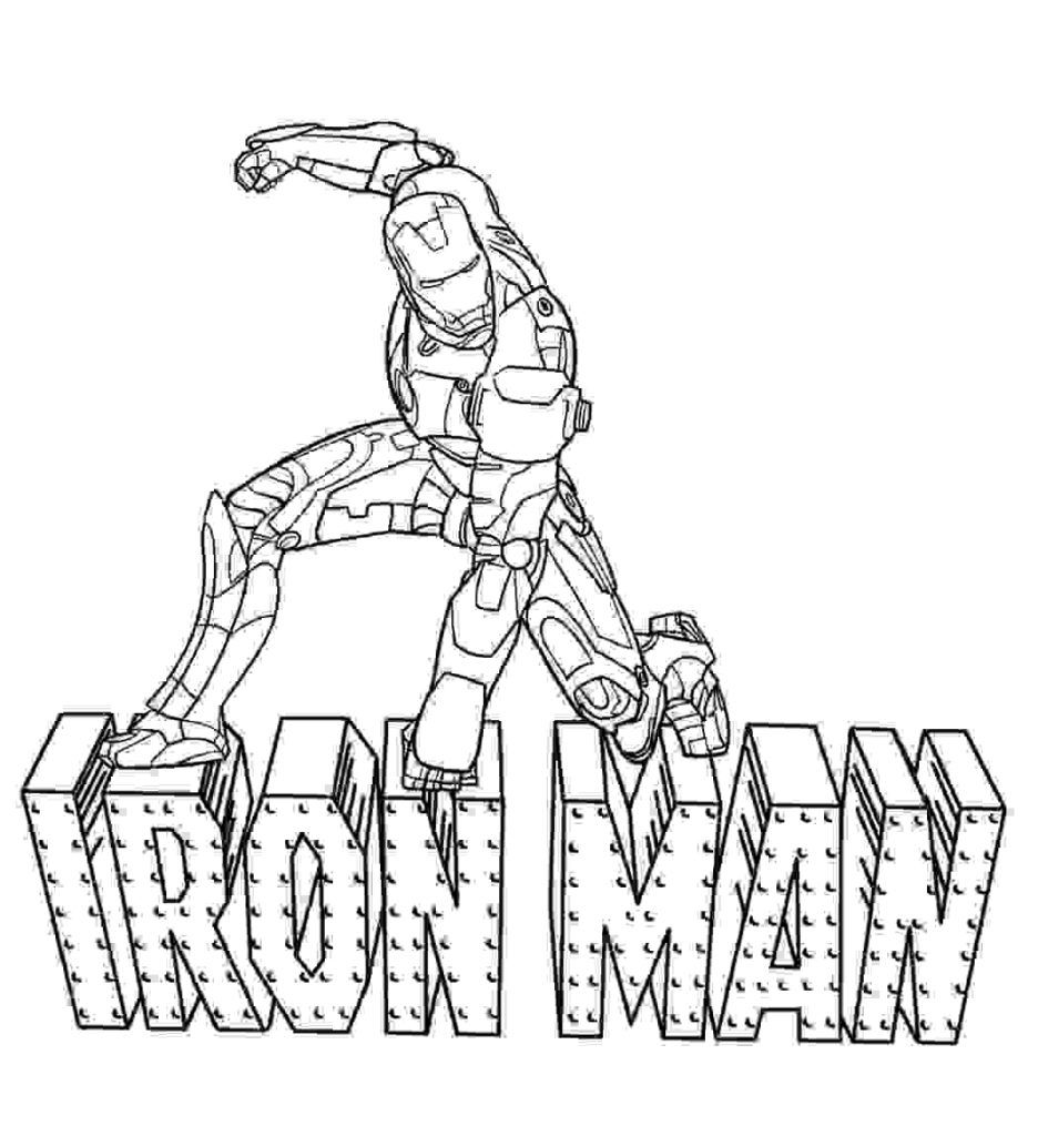 Printable Iron Man Coloring Pages For Kids Avengers Coloring