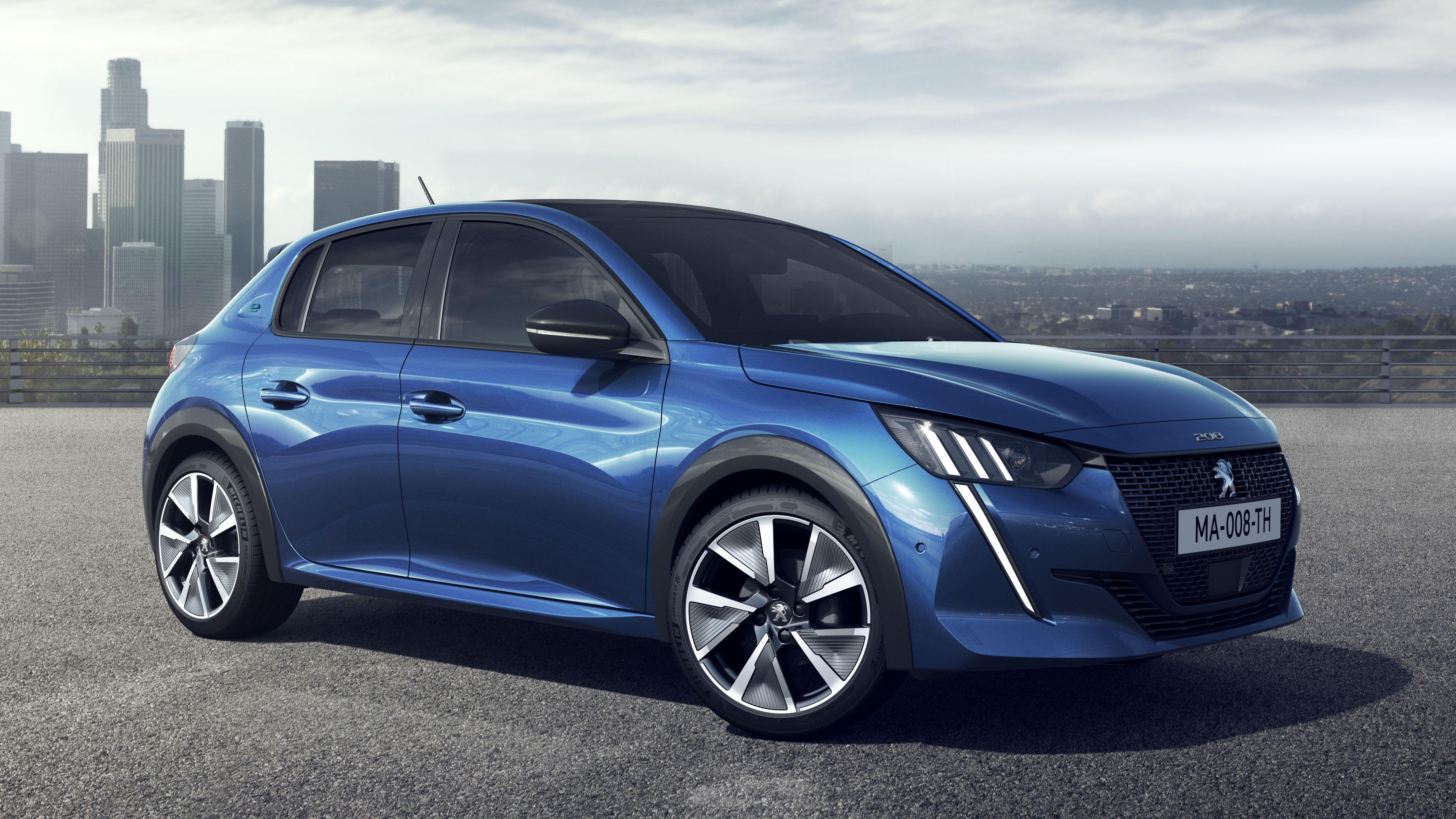 2019 Peugeot 208 Peugeot Electric Cars Geneva Motor Show