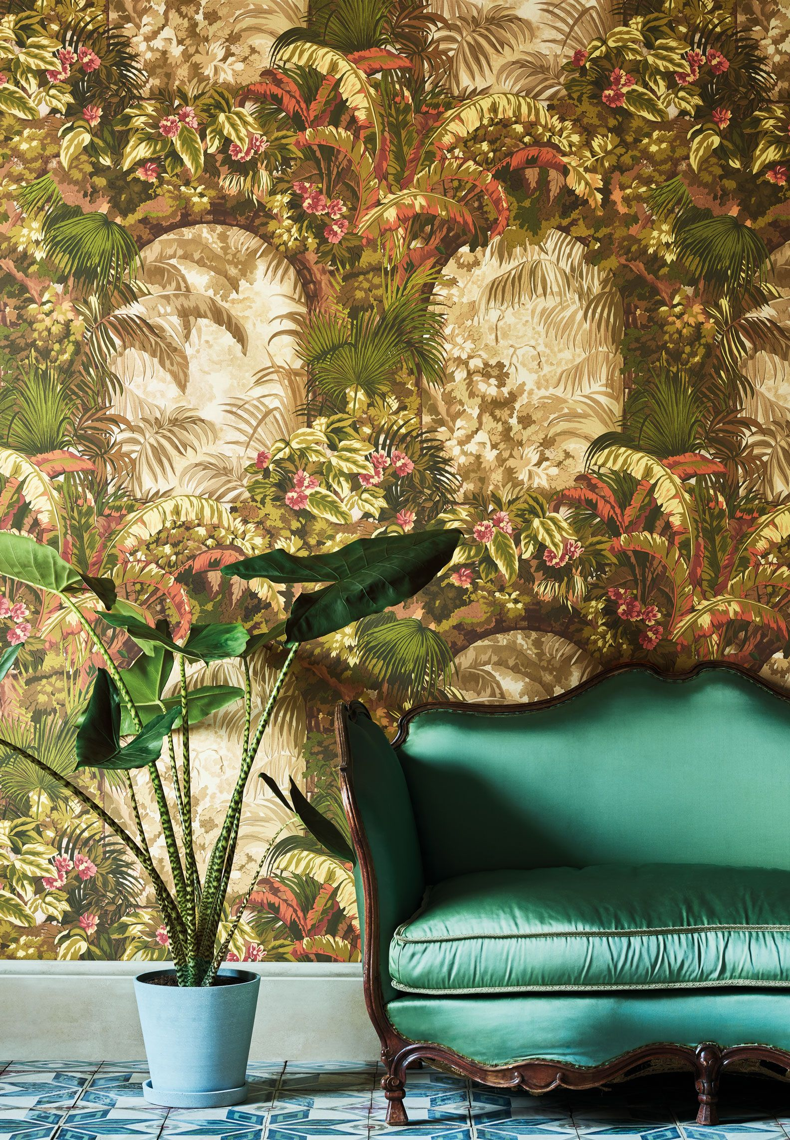 The 10 hottest wallpaper trends for 2020, from 3D to