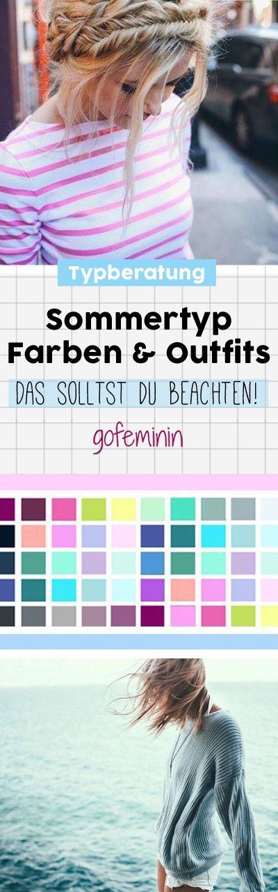 sommertyp diese farben lassen dich sofort besser aussehen body mode tips pinterest. Black Bedroom Furniture Sets. Home Design Ideas
