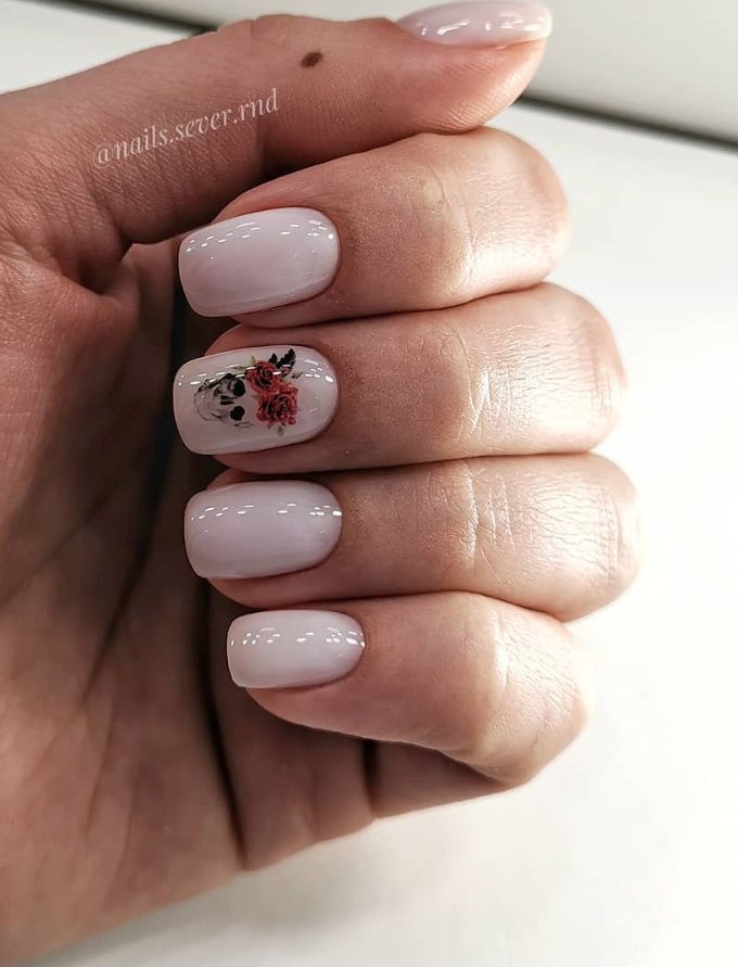 110 Best Natural Short Nails Design Ideas For Fall , Page 23