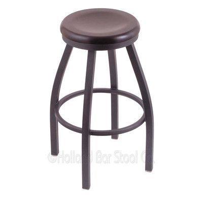 Varick Gallery Cragin 34 Swivel Bar Stool Leg Finish Anodized