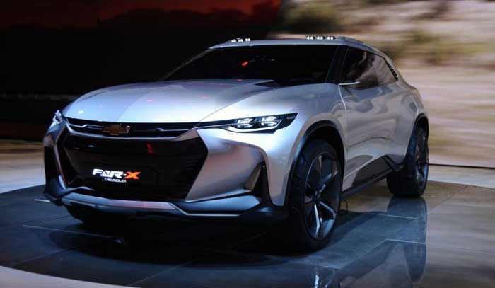 Chevrolet Fnr X Concept Futuristic Plug In Hybrid Crossover