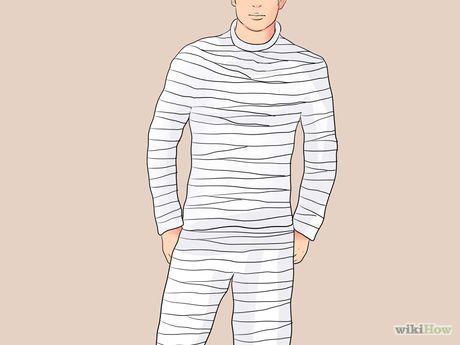 ein mumien kost m anfertigen halloween pinterest faschingskost me gruppen mumie und. Black Bedroom Furniture Sets. Home Design Ideas