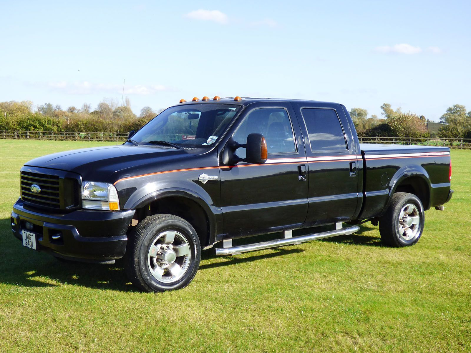 2004 ford black f250 harley davidson edition ebay