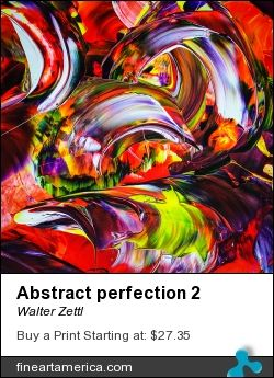 Abstract Perfection 2 By Walter Zettl